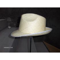 Sombrero Fedora , Cubano,yucateco ,franco En Palma Fina Mmu
