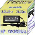 Cargador Original Laptop Hp Cq43-173la  18.5v  3.5a Bfn Mmu