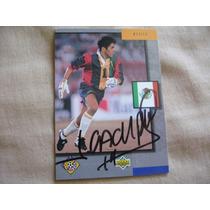 Jorge Campos 1994 Upper Deck Autografo Portero