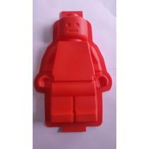 Molde De Silcion En Forma De Muñeco De Lego Gigante