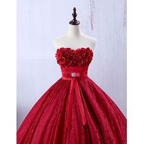 Vestido De Xv Inspirado En La Princesa Bella De Disney