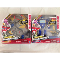 Hero Mashers Dinobot Slug + Soundwave Nuevos Transformers