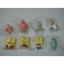 Bob Esponja 8 Figuras Patricio, Calamrdo, Arenita, Plankton