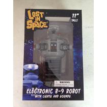 Robot B-9 Lost In Space Con Luces Y Sonido Diamond Toys