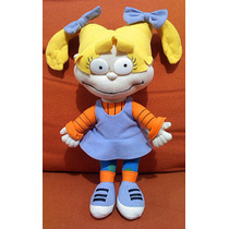 Rugrats - Peluche De Angelica Pickles Original Nickelodeon