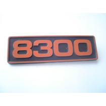 Emblema 8300 Para Camioneta Clasica Original