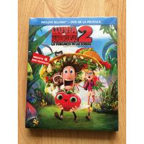 Lluvia De Hamburguesas 2 En Blu-ray Y Dvd, Nueva, Original
