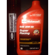 Aceite Super Racing Sae 20w-50 Motorcraft