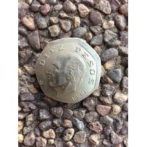 Moneda Descentrada Error Diez Pesos Poco Común