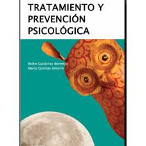 Tratamiento Y Prevención Psicológica Pdf