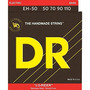 Dr Strings Lo-rider - Acero Inoxidable Núcleo Hex Bass 50-11