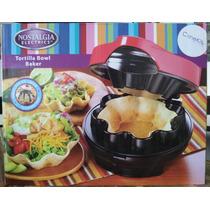 Nostalgia Electrics, Máquina Para Canastas/bowls De Tortilla