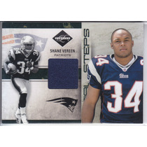 2011 Limited Steps Rookie Jersey Shane Vereen 4/99 Patriots