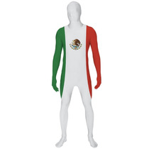 Mexicano Morphsuit Traje - Bandera Xl México Sports World