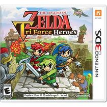 The Legend Of Zelda: Tri Force Heroes - New Nintendo 3ds 2ds