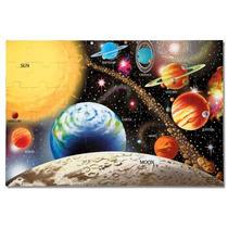 Melissa & Doug Sistema Solar 48 Piezas Rompecabezas Del Piso