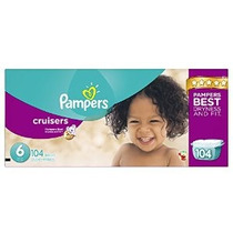 Pampers Cruisers Pañales Economy Plus Tamaño Del Envase 6 10