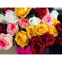 Flores Rosas Artificiales Por Pieza Centro De Mesa Arreglos