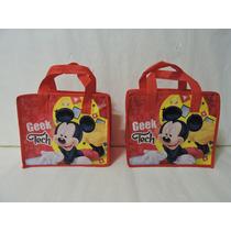 Mickey Mouse Dulceros Bolsas Recuerdos Fiestas 10 Bolos