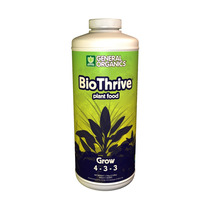 Fertilizante Biothrive Grow 946ml / Hidroponía / Orgánico