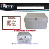 Caja Para Moto Reparto Mod California - Cajas Para Motos