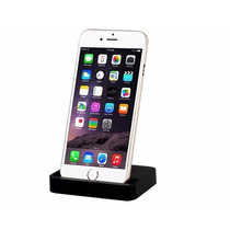 Iphone Dock Stand 8 Pin: Iph 6, 6 Plus, 5s, 5c, 5 - Negro