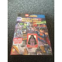 Lego Dvd Liga De La Justicia Incluye Figura Batman Bizzarro