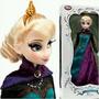Disney Store Frozen Edición Limitada Princesa Elsa Coronació