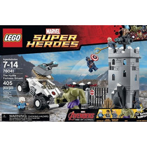 Lego Marvel Heroes Avengers The Hydra fortress Modelo 76041