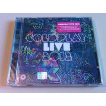 Coldplay Live 2012 Dvd+cd Nuevo Cerrado Nacional