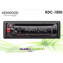 Autoestereo Kenwood Kdc-102u Usb Cd Android Mp3