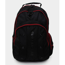 Wenger Back Pack Porta Laptop 16 Jett Negro Y Rojo Mmu