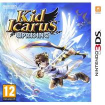 Kid Icarus Para Nintendo 3ds Con 6 Ar Cards Seminuevo