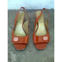 Zapatos Dama Anaranjados # 5 Retro,antro,hipie,rock,sexy