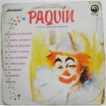 Paquín Nuevas Canciones Infantiles 1 Disco Lp Vinil