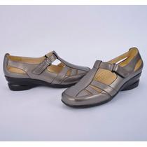 Zapato Doble Ancho De Pie Con Plantilla Acojinada 22 Al 27.