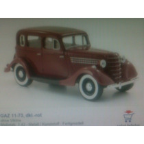 Gaz 11-73, Coleccion Autos Rusos, Año 1940, Esc 1:43