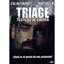 Triage, Pelicula En Formato Dvd