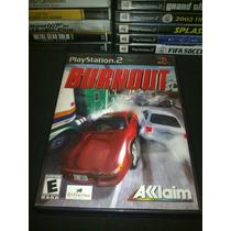 Burnout Playstation 2 Excelente Juego De Carreras Extremas