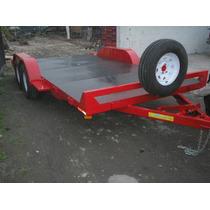 Remolque Plataforma Camioneta Camion Cuatrimoto