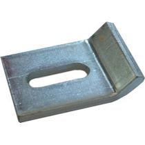 Clema Para Charola Con Ranura Galvanizado Y Aluminio.