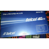 Chip Telcel 4g Para Puebla Oaxaca Tlaxcala Guerrero Veracruz