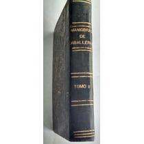 Maniobras De Caballería, Impreso En México, 1900