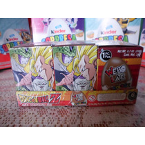Huevo Sorpresa Tipo Kinder Dragon Ball Z 6pz Sellada