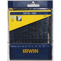 Juego De Brocas De Alta Velocidad Para Metal Irwin 1865302