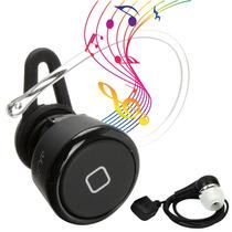 Mini Manos Libres Y Audifonos Bluetooth ¡se Escucha Musica!
