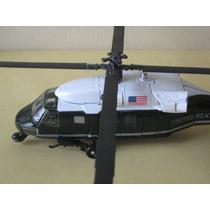 Helicóptero Presindencial De Metal Y Plastico, Escala. 1:55
