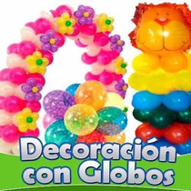 Aprende Decoracion Con Globos Hacer Arreglos Y Globoflexia