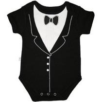 Frenchie Mini Couture Niños Tuxedo Body