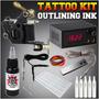Kit Tatuar 1 Maquina Con Fuente De Poder Tattoo Tatuajes Mmu